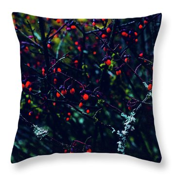 Reds Throw Pillow