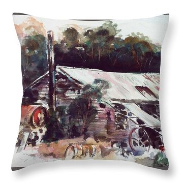 Buninyong Dairy Throw Pillow