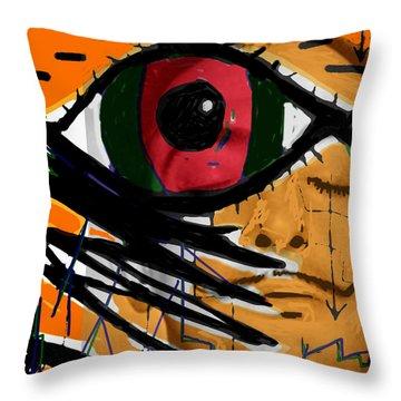 Bunuel Chien Andalou Poster  Throw Pillow
