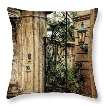 Buonasera Charleston Throw Pillow