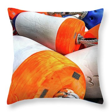 3719 Throw Pillow
