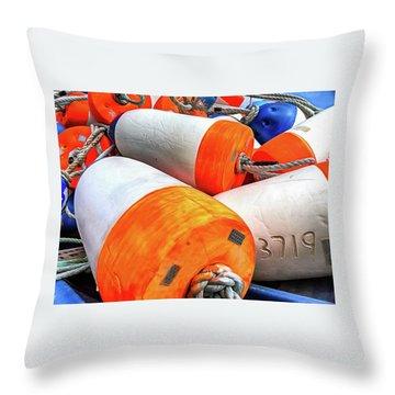 Buoy 3719 Throw Pillow