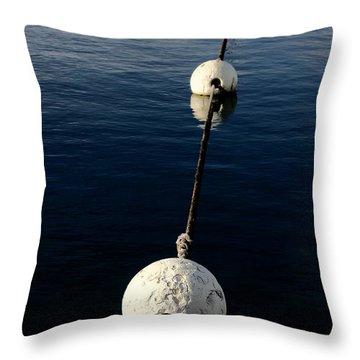 Buoy Descending Throw Pillow
