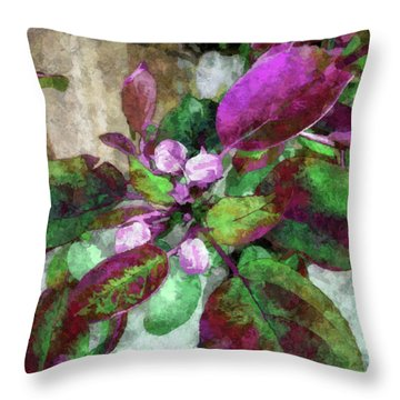 Buoyancy Of Nature Throw Pillow
