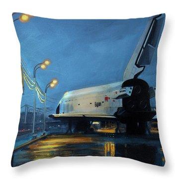 Space Ships Throw Pillows