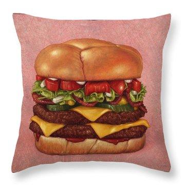 Bacon Throw Pillows