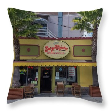 Burgermeister Restaurant, San Francisco Throw Pillow