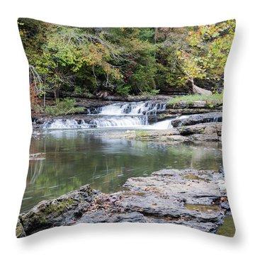 Burgess Falls Throw Pillow