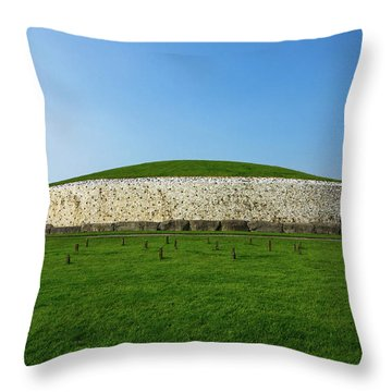 Burial Mound Throw Pillow