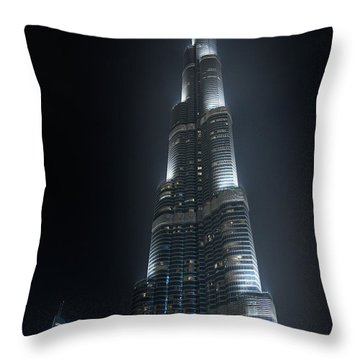 Burj Khalifa Throw Pillow