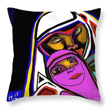 Burka Dome Throw Pillow