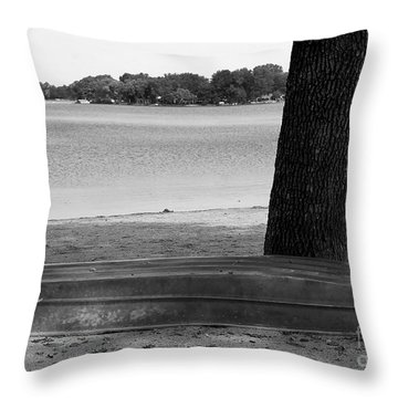 Throw Pillow featuring the photograph Burlington by Ricky L Jones