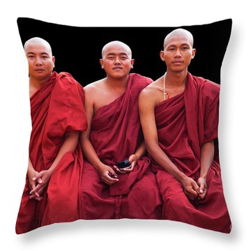 Burma_d1610 Throw Pillow