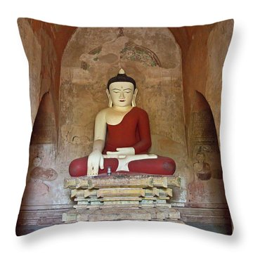 Burma_d2078 Throw Pillow
