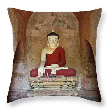 Burma_d2078 Throw Pillow by Craig Lovell