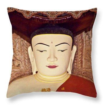 Burma_d2085 Throw Pillow by Craig Lovell
