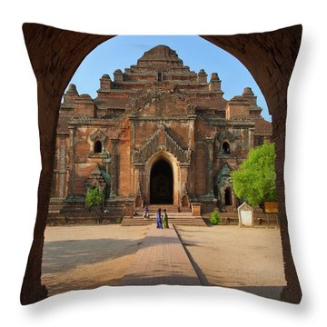 Burma_d2095 Throw Pillow