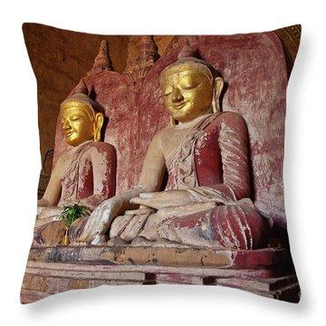 Burma_d2104 Throw Pillow by Craig Lovell