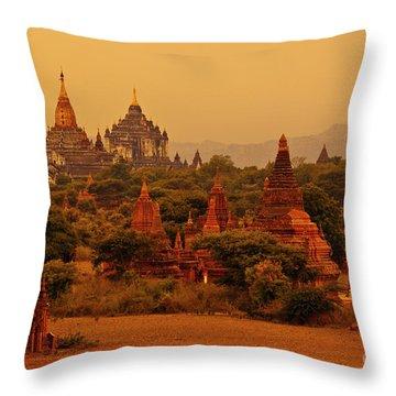 Burma_d2136 Throw Pillow