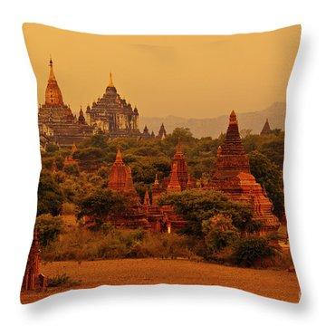 Burma_d2136 Throw Pillow by Craig Lovell