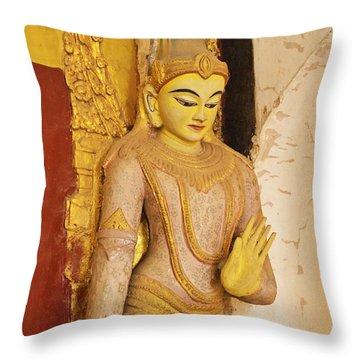 Burma_d2257 Throw Pillow by Craig Lovell