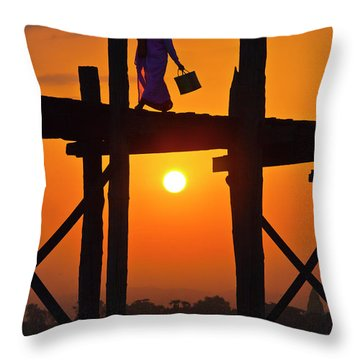 Burma_d807 Throw Pillow