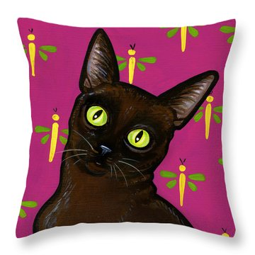 Burmese Best Throw Pillow