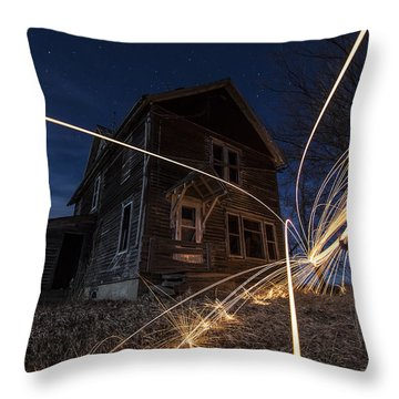 Burning Down The House  Throw Pillow