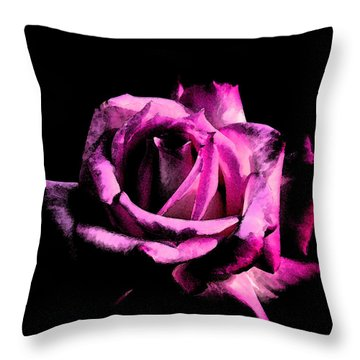 Burning For Love Throw Pillow