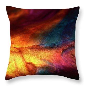 Burning Inside Throw Pillow