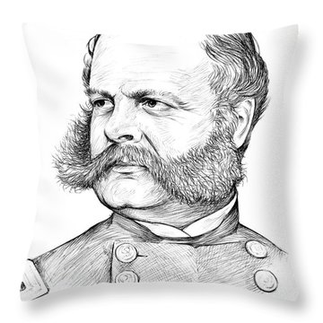 Burnside Throw Pillow