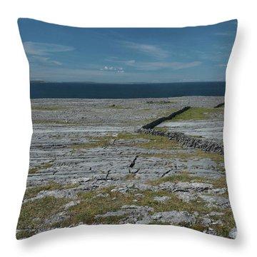 Burren Collection Throw Pillow