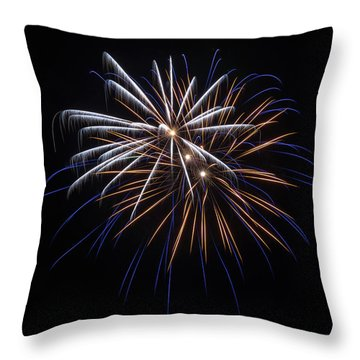 Throw Pillow featuring the photograph Burst Of Elegance by Bill Pevlor