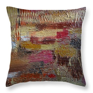 Burst Of Sunshine Throw Pillow