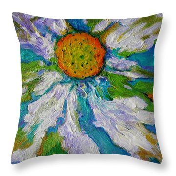 Bursting Through Throw Pillow