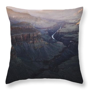 Bury Me At The Heart Of The River Throw Pillow