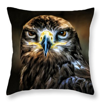 Buse - Portrait Throw Pillow