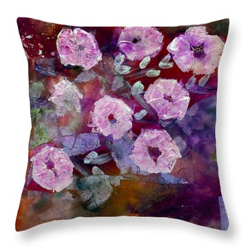 Bush Morning Glory Throw Pillow by Don  Wright