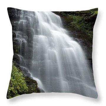 Bushkill Falls - Daughter Fall Throw Pillow