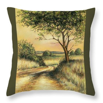 Bushveld Throw Pillow by Heidi Kriel