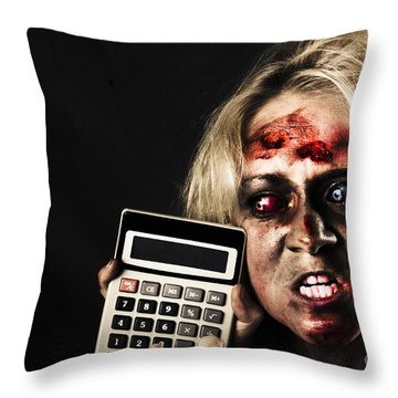 Financial Crisis Throw Pillows