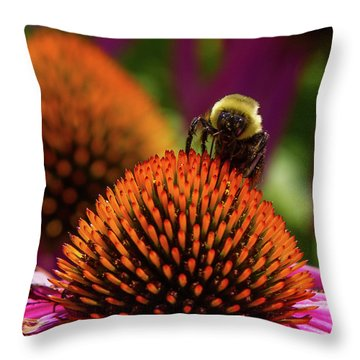 Busy As A ... Just Busy Throw Pillow