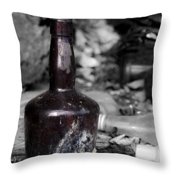 But Where's The Rum? Throw Pillow