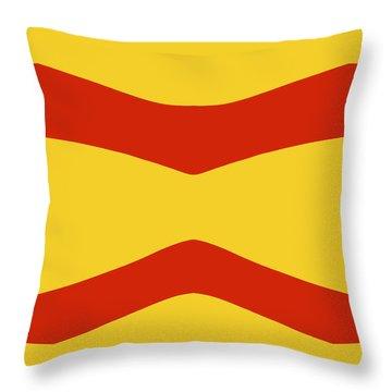 Buttercup Fiesta Throw Pillow