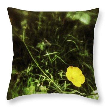 Buttercup Glen Throw Pillow