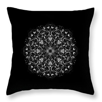 Butterflies And Grapes Inverted Throw Pillow