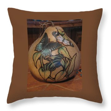 Butterflies #gn 11 Throw Pillow