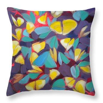 Butterflies Sunning 2 Throw Pillow