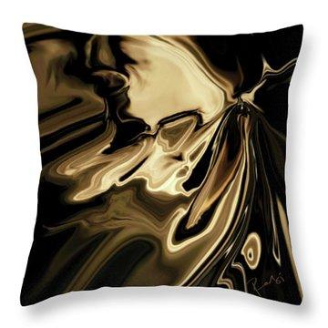 Throw Pillow featuring the digital art Butterfly 2 by Rabi Khan