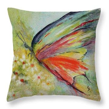 Butterfly 3 Throw Pillow